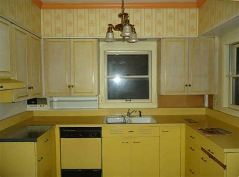 painting old metal kitchen cabinets steel kitchen cabinets history design and faq retro
