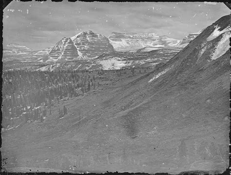 Summit County Utah Records File Hayden S Cathedral Uinta Mountains Summit County Utah Nara 516925 Jpg