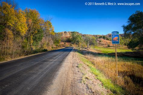 national scenic byway loess national scenic byway iowa tourism map