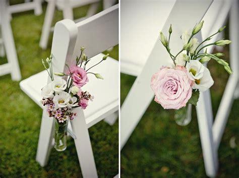 deco chaise mariage fleurs mariage en vogue