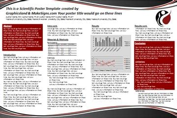 poster presentation template 24x36 association for pelvic organ prolapse support research