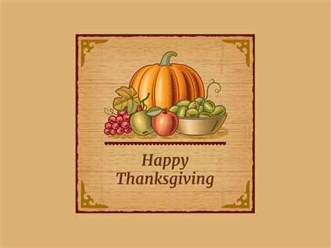 Greeting Cards 20 Free Premium Templates Thanksgiving Card Template Free