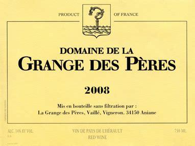 domaine la grange des peres grange des p 232 res our wines kermit lynch wine merchant