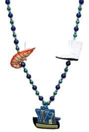 shrimp boat necklace crab crawfish shrimp and lobster beads are perfect for