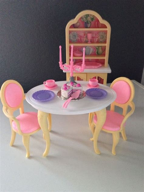 barbie dining room set 249 best images about barbie new adventures 1990 on