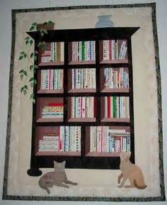 Bookcase quilt must do this more