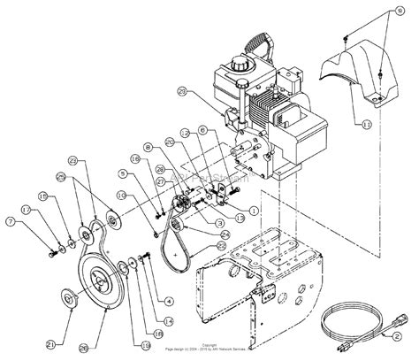 mtd yard machine parts diagram mtd 31ae600e161 1998 parts diagram for belt drive