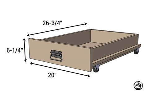 bed storage cart rogue engineer
