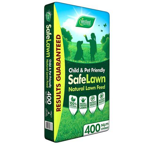 westland safe lawn natural lawn feed