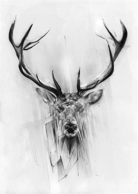 elk antler tattoo designs marcou stag tattoos beautiful