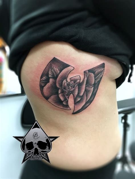 wicked rose tattoos 38 best wutang images on wu tang clan wutang