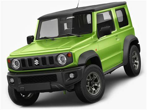2019 Suzuki Models by Suzuki Jimny 2019 3d Turbosquid 1327149