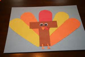 t is for turkey craft all kids network