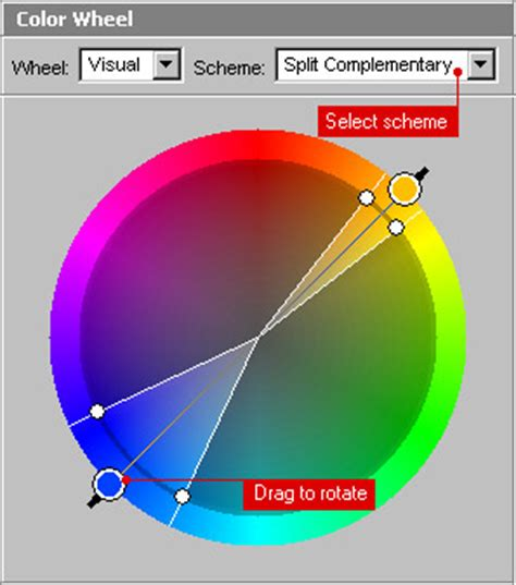 color wheel pro color wheel pro see color theory in auto design tech