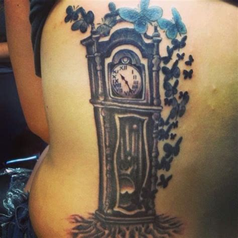 grandfather tattoos grandfather clock meaning www imgkid the