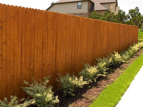 pictures of fences wood fences austex fence and deck