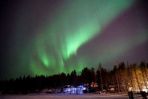 finland in december northern lights oy levi ski resort kittil 228 finland northern lights in