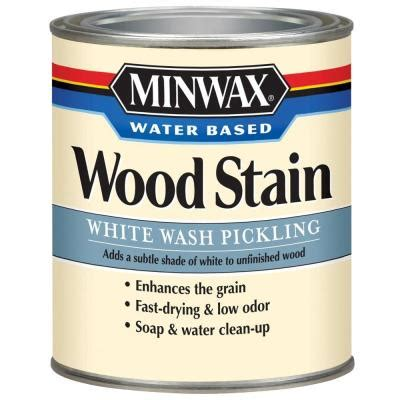 minwax stain colors home depot minwax 1 qt white wash pickling water based stain 4 pack