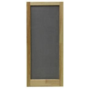 Home Depot Door Screens by Screen Tight 30 In X 80 In Meadow Wood Unfinished Screen