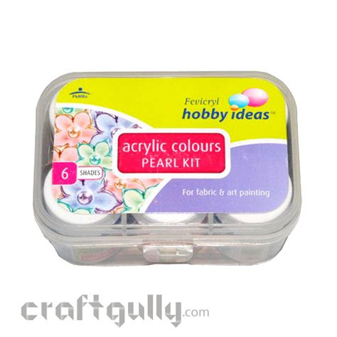 acrylic painting hobby ideas fevicryl hobby ideas acrylic colors pearl kit pictures