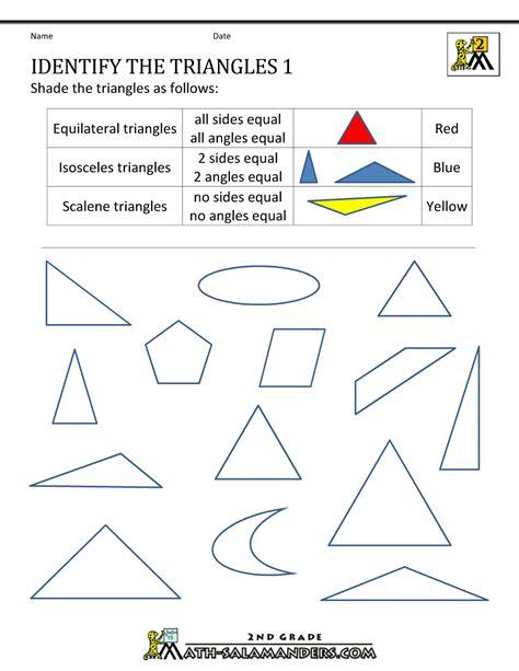 worksheet on shapes for class 2 2d shapes worksheets 2nd grade