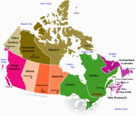 map of the regions of canada thefourcornersclassroom 8 pre project