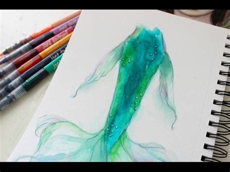 watercolor tattoo tutorial 15 best ideas about watercolor mermaid on