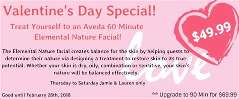 s day specials s day specials nu image salon day spa