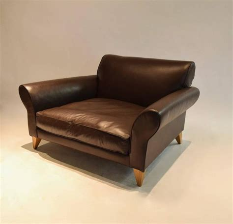 wide lounge chair wide lounge chair in leather uk for sale at 1stdibs