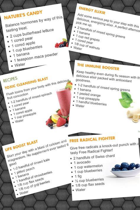 free printable nutribullet recipes 1000 ideas about smoothie machine on pinterest slush