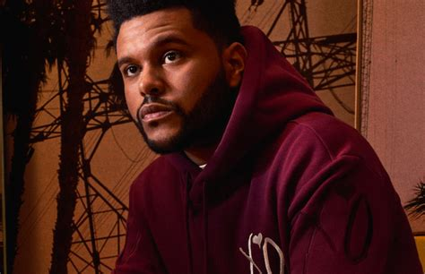 the weeknd s here s a full look at the weeknd s new collaboration with