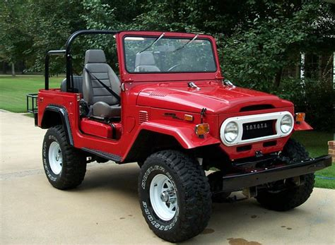 jeep toyota early land cruisers helped