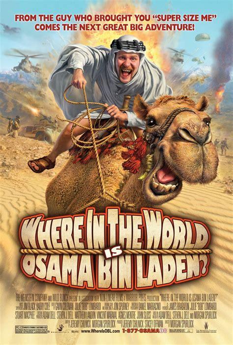 film perang osama bin laden final poster art released for morgan spurlock s where in