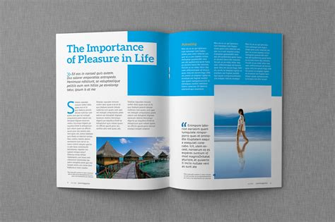 Magazine Format Template magazine indesign templates dealjumbo