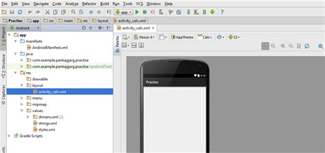 android studio layout toolbar toolbar location in android studio stack overflow