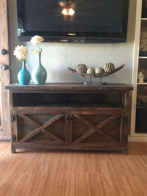 solid wood entry table rustic tv solid wood entry way table by therusticmillhouse