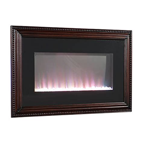 36 quot wall mount wood frame electric fireplace big lots