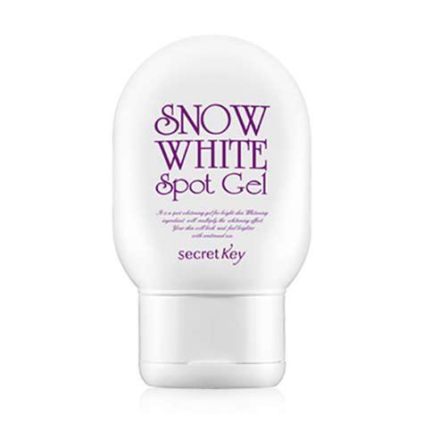 secretkey snow white spot gel 65g