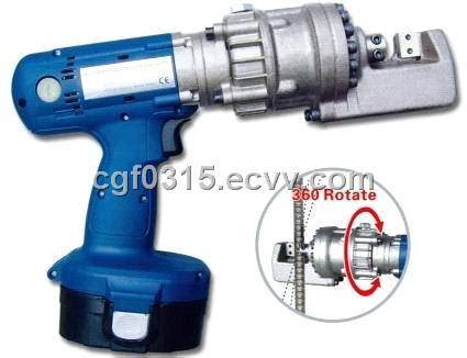 battery powered handy rebar cutter hand held steel bar
