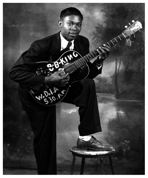 B B King b b king the hooks brothers 1949 169 jazzinphoto