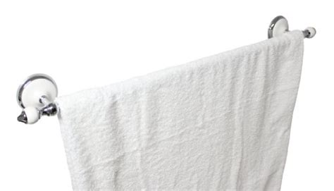 modona  towel bar white porcelain chrome arora series  year warrantee buy
