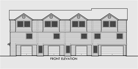 4 plex house plans 4 plex house plans multiplexes quadplex plans
