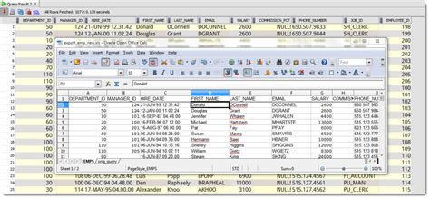 oracle tutorial exles how to import from excel to a new oracle table with sql