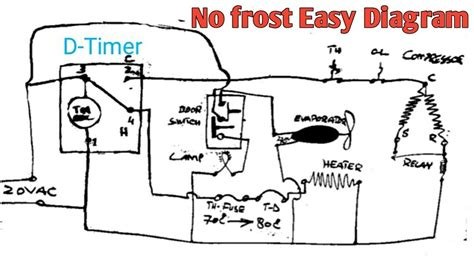 sanyo no refrigerator wiring diagram new wiring