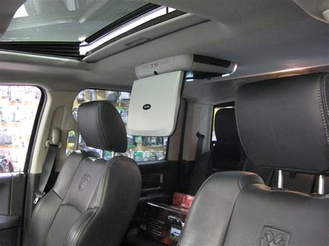 what is system ram dodge ram rear seat entertainment screen installation