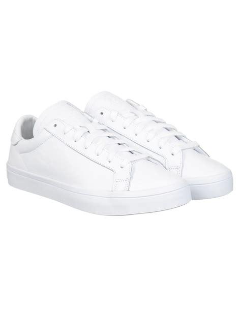 adidas originals court vantage shoes whitewhite