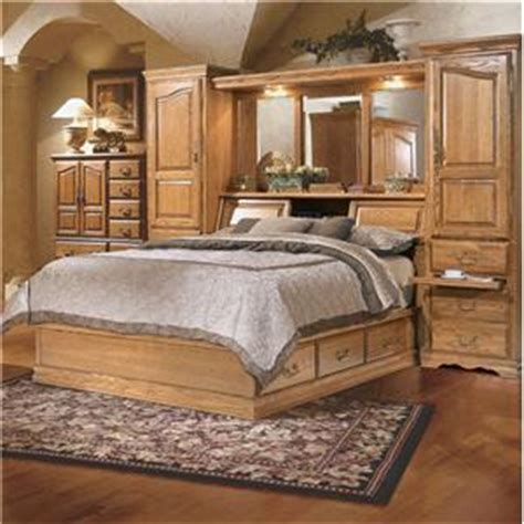 king pier bedroom set furniture traditions master piece king pier bed group