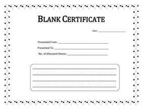 certificate blank template blank certificate templates to print activity shelter