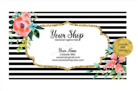 cute business cards templates free theveliger