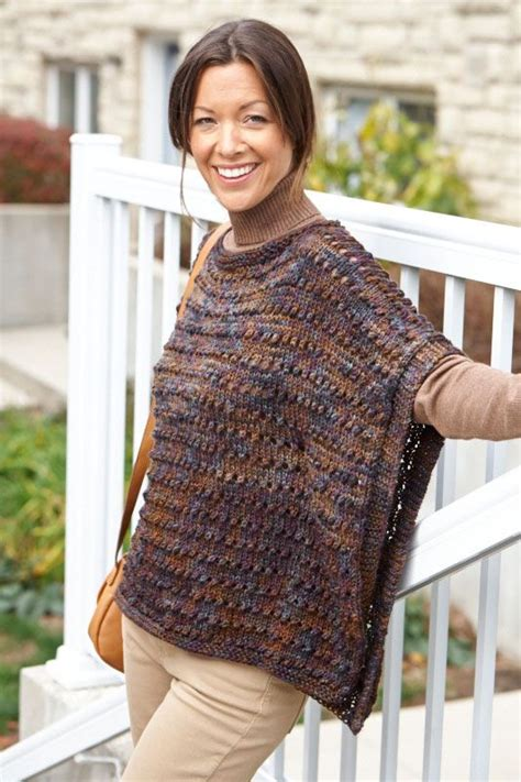 how to knit a poncho for beginners pattern pin by judith baer on knitting poncho via